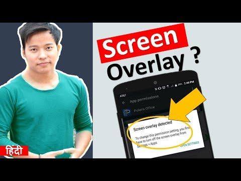 What is Screen Overlay Detected ? How to Turn Off Screen Overlay on Android Mobile ?