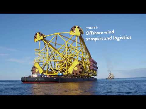Course: Offshore wind transport and logistics (trailer)