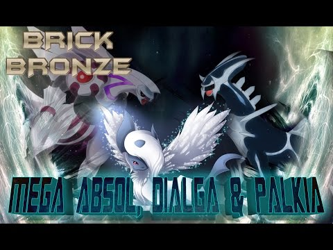 Roblox: Pokemon Brick Bronze - MEGA Absol, Dialga & Palkia + Eclipse Boss Fight!