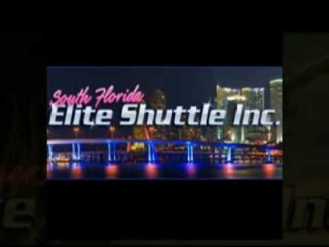 South Florida Elite Shuttle, Fort Lauderdale Airport Transportation.mpg
