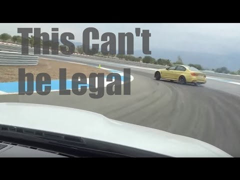 This can't be legal - BMW Performance Center West -Thermal Raceway