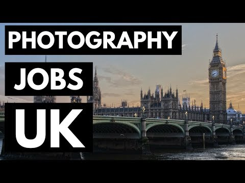 Photography Jobs In UK - Get Paid To Take Pictures