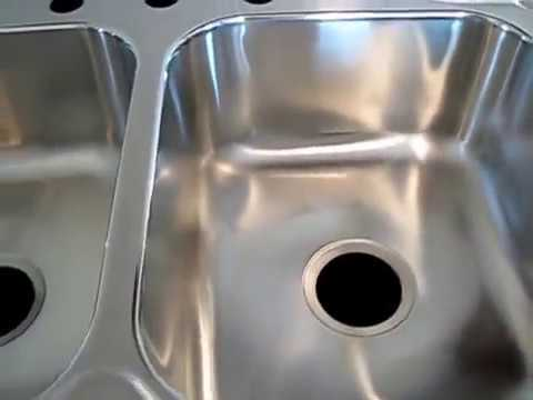 how to install a New Kitchen Sink Strainer basket to correct a Leaking Drain at sink basin