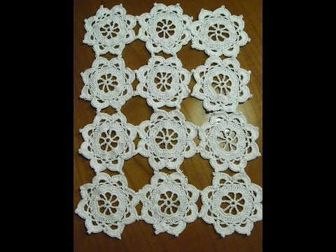 Diy Häkeldecketischdeckchen Häkelntabledcloth Crochettutorial