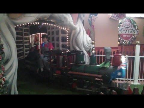 Santa Train, Myer Centre Brisbane