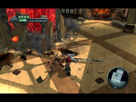Darksiders running on OnBoard VGA form the Future