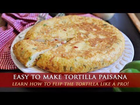 The Famous Spanish Tortilla Paisana Omelette Recipe