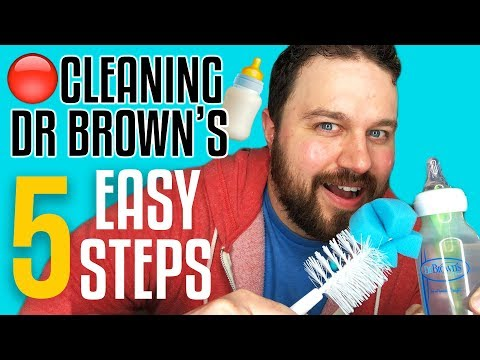 How To Clean Dr Browns Bottles