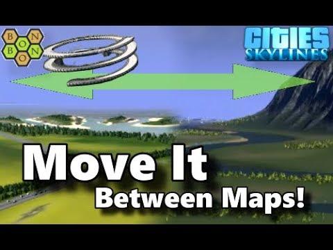 Cities Skylines - Move It Mod - Import / Export Tool - Tutorial