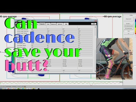 Can the right pedaling cadence save your butt? // Cool bike fit case study