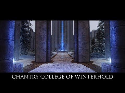 Skyrim SE Mods: Chantry College of Winterhold