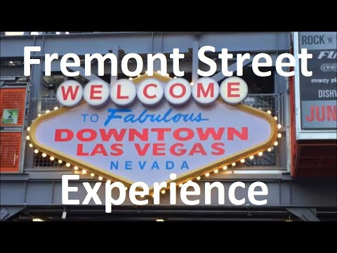 Beginners' guide to the Fremont Street Experience (Vegas - Part 2)