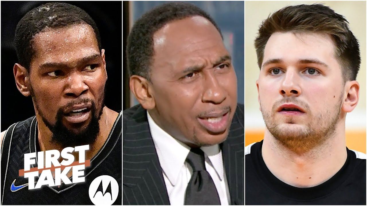 'Luka ain't Kevin Durant!' - Stephen A. and Max debate the best player on the planet | First Take