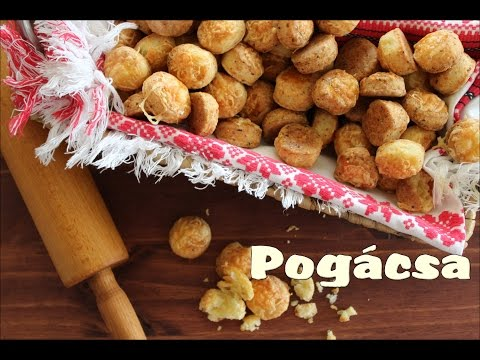Small Hungarian Cheese Scones (Sajtos Pogácsa)