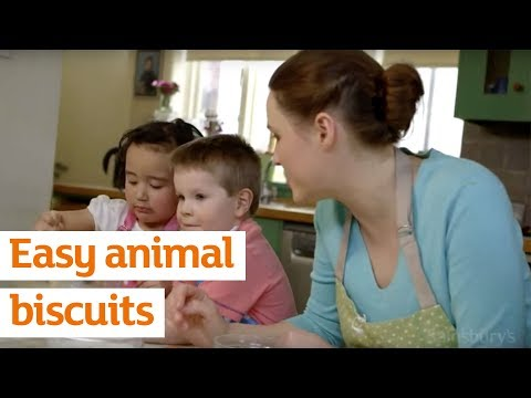 Easy animal biscuits   Recipe   Sainsbury's
