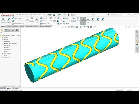 Solidworks Equation Driven Curves