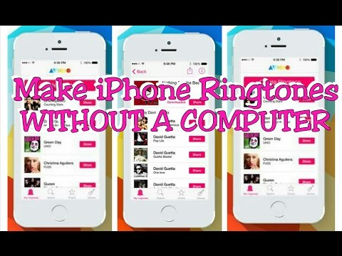How to make iPhone Ringtones WITHOUT A COMPUTER!