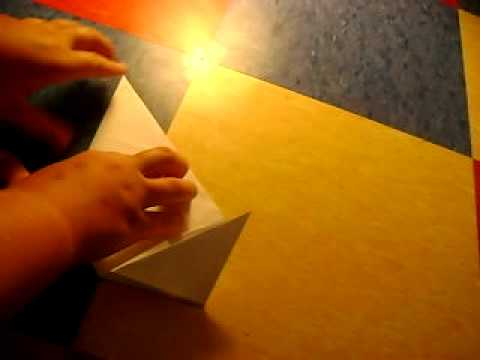 how to make a paper space ship
