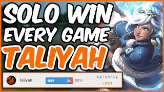 Download TALIYAH IS CRAZY GOOD! SOLO CARRY YOUR GAMES - Challenger Taliyah - League of Legends Video
