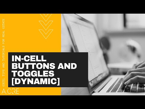 How to Create Dynamic, In-Cell Buttons and Toggles in Microsoft Excel