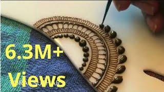 Beautiful easy and latest mehndi design 2017 | आसान सरल मेहंदी डिजाइन | Henna Mehndi Trends |
