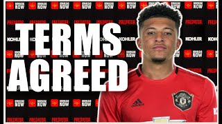 Jadon Sancho Terms Agreed | Man United News