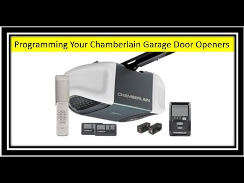 Chamberlain Garage Door Opener Programming And Erasing Codes Also Added Time Stamps