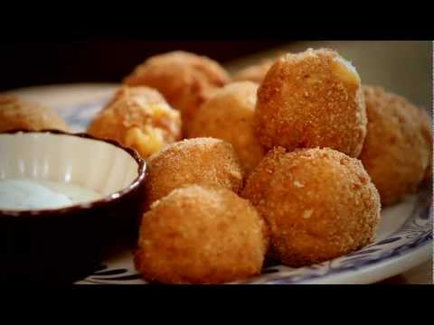 Tapas and Small Bites with Chef Luis - Jalapeno Cheese Fritters