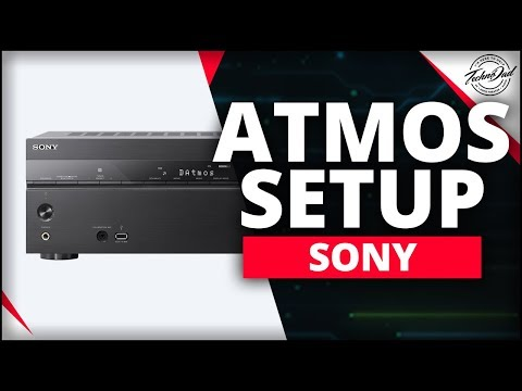 Sony STR-DN1080 Unboxing & Dolby Atmos Setup