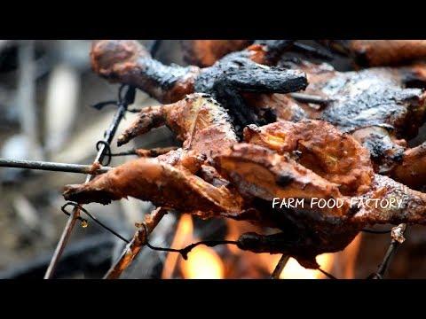 Village Style Quail Tandoori | Farm Food Factory