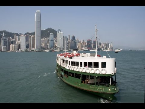 Across Victoria Harbour on the Star Ferry Hong Kong