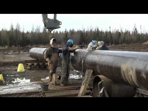 Pipeline Welding  -  High Production Double Joint Yard