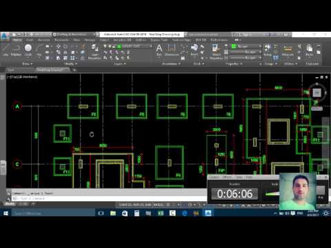 Stake Out Coordinate For  Structural Drawing in Autocad Civil 3d 2016