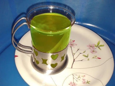 how to make green tea in telugu for weight loss, diabetes,