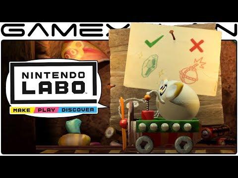 More Nintendo Labo Details! - DISCUSSION (Track Creator, Robot Versus Mode, & More!)