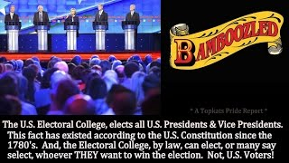 Why Us Presidents Are Elected By An Electoral College Not Public Votes