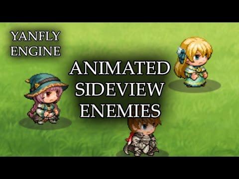 YEP 44 - Animated Sideview Enemies - RPG Maker MV - PlayItHub