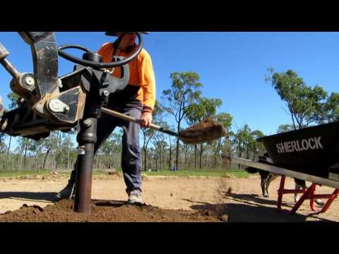 Building A Shed - Part I Pouring The Concrete Slab