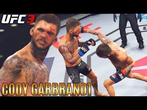 Brawling and Trolling With Cody Garbrandt! I Would Lose Like This! EA Sports UFC 3 Gameplay