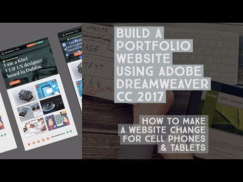 How to make a website change for cell phones & tablets - Dreamweaver Templates [11/38]