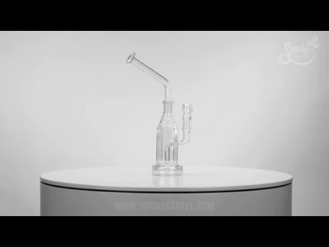 Hi Si Glass Hex Stemless Bubbler