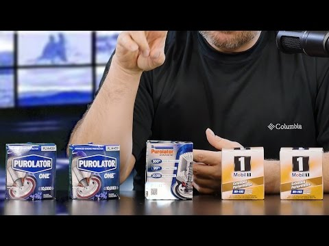 Purolator vs Mobil 1 Oil Filters - BEST Filter for Synthetic Oil?