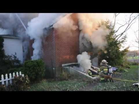 House Fire, Plumsteadville, PA November 9, 2012