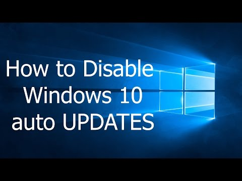 How to Stop Windows 10 auto Update | বন্ধ করুন উইন্ডোজ ১০ অটো আপডেট