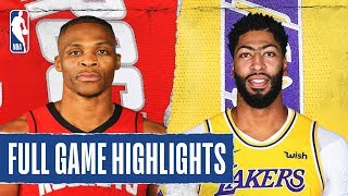 ROCKETS at LAKERS | FULL GAME HIGHLIGHTS | February 6, 2020