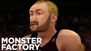 Stang Is Totally Not Sting Trying To Play Basketball - MONSTER FACTORY