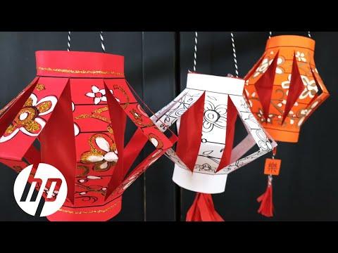 DIY Paper Chinese Lantern