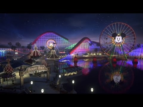 First Pixar Pier Commercial