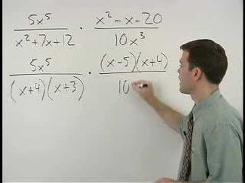Multiplying Rational Expressions - MathHelp.com - Math Help
