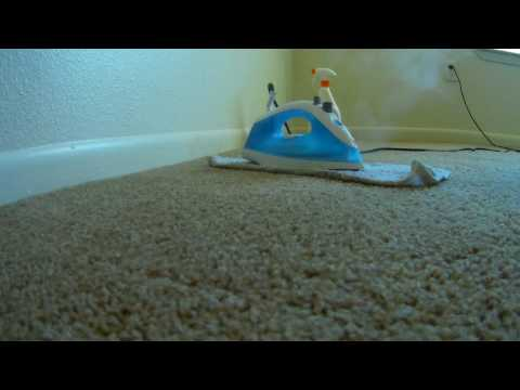 Removing Red Stains From Carpet With Iron